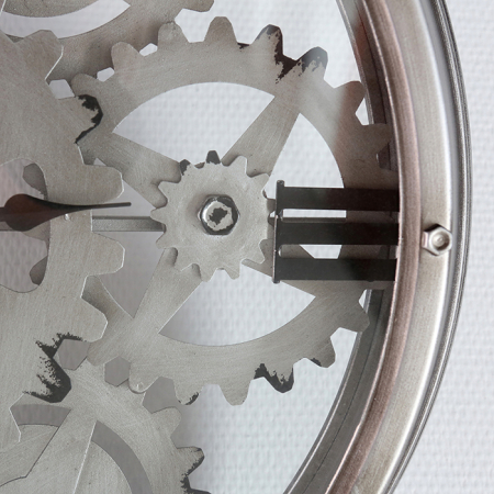 Ceas de perete LOFT, metal, 60x8 cm3