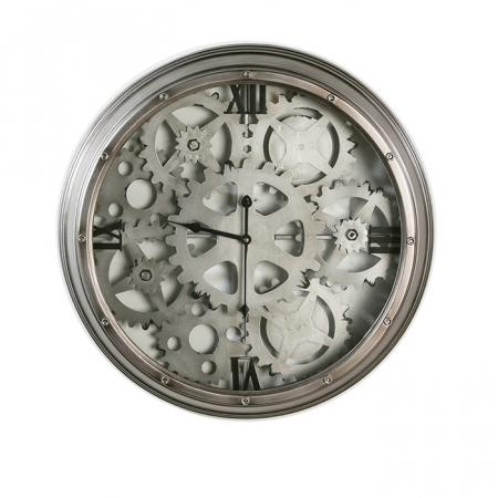 Ceas de perete LOFT, metal, 60x8 cm0