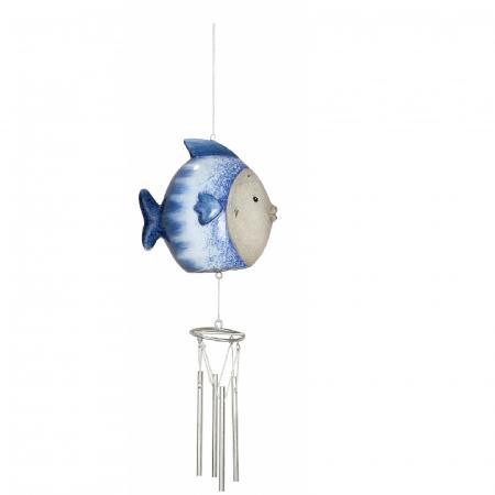 Clopotel de vant OCEAN, ceramica, 26x6x10 cm0