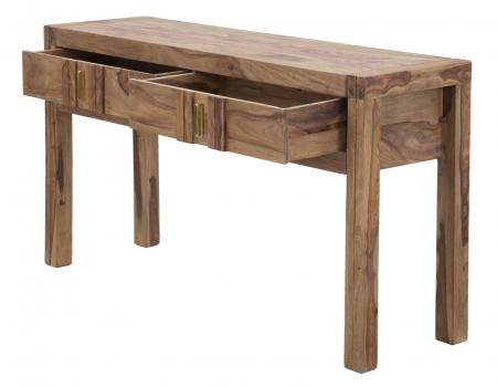 Consola ELEGANT, lemn masiv sheesham, 132X40X76 cm, Mauro Ferretti5