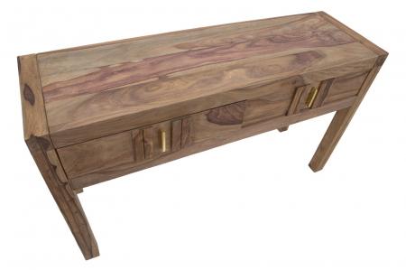 Consola ELEGANT, lemn masiv sheesham, 132X40X76 cm, Mauro Ferretti8