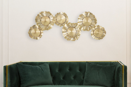 Corp de iluminat de perete cu 3 becuri GISPY, metal, 85X8X34 cm, Mauro Ferretti7