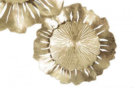 Corp de iluminat de perete cu 3 becuri GISPY, metal, 85X8X34 cm, Mauro Ferretti4
