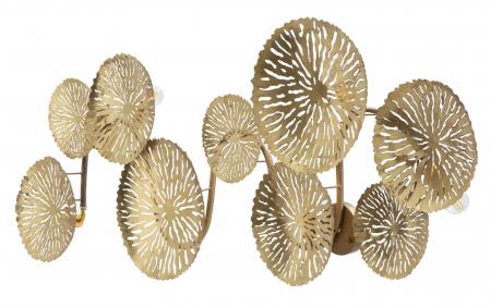 Corp de iluminat de perete cu 5 becuri DISHY, metal, 138X9X50 cm, Mauro Ferretti4