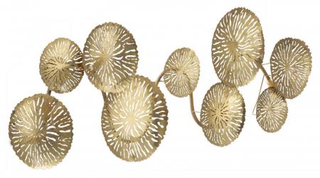 Corp de iluminat de perete cu 5 becuri DISHY, metal, 138X9X50 cm, Mauro Ferretti2