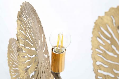 Corp de iluminat de perete cu 5 becuri DISHY, metal, 138X9X50 cm, Mauro Ferretti1