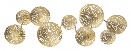 Corp de iluminat de perete cu 5 becuri DISHY, metal, 138X9X50 cm, Mauro Ferretti0