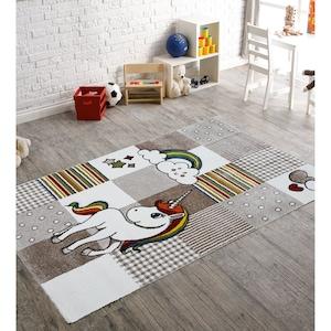 Covor Merinos, Diamond Kids 21992-760, Fibre sintetice, Multicolor, 120 x 170 cm [2]