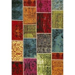 Covor Merinos, Ethno, multicolor, 13 mm, 200 x 290 cm [0]