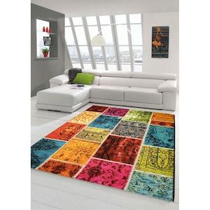 Covor Merinos, Ethno, multicolor, 13 mm, 200 x 290 cm [2]