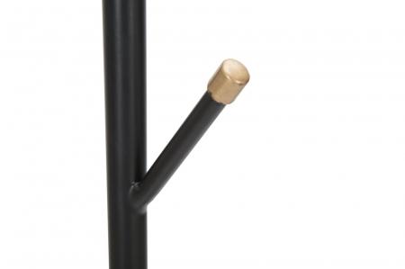 Cuier cu suport pentru umbrele GLAM negru (cm)Ø 26X1763