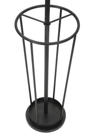 Cuier cu suport pentru umbrele GLAM negru (cm)Ø 26X1761
