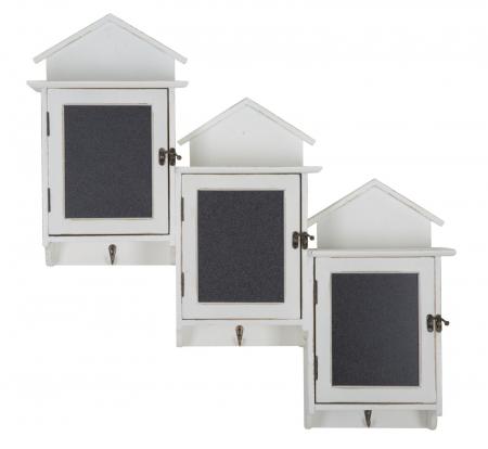 Cuier cu tablita de scris si depozitare CABIN (cm) 83X13X701