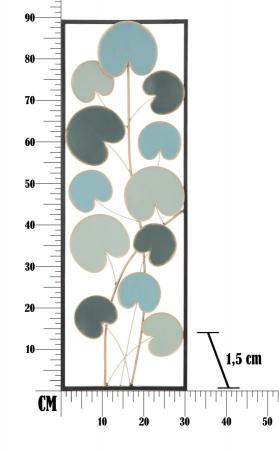 Decoratiune de perete  ALLE -B- (cm) 30X1,5X88,58