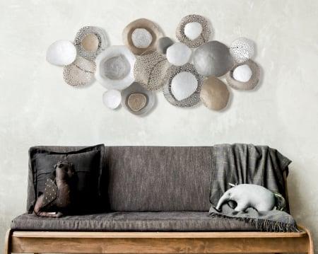 Decoratiune de perete BATY (cm) 134,5X7,6X68,55