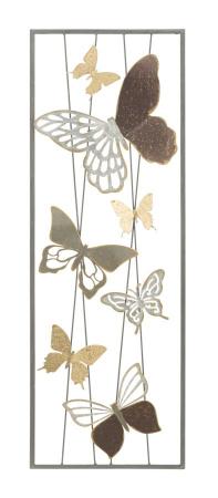 Decoratiune de perete BUTTERFLY SMART -A- (cm) 31X4X89,51