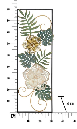 Decoratiune de perete CAMPUR -A- (cm) 31X4X905