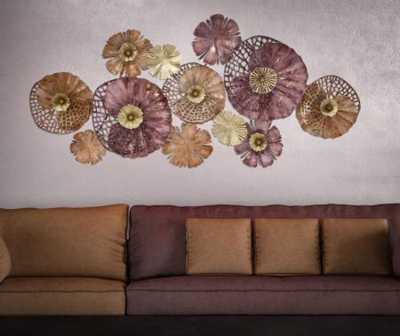 Decoratiune de perete CROX (cm) 132X10X645