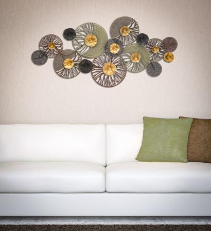 Decoratiune de perete CUTTED -A- (cm) 133X7,5X66,55