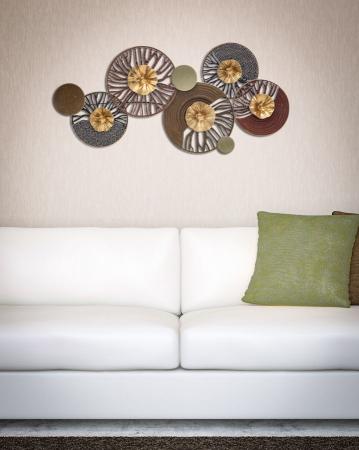 Decoratiune de perete CUTTED -B- (cm) 90X5,5X43,55