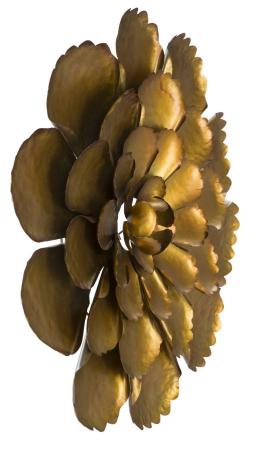 Decoratiune de perete  FIORE GOLDY -A- (cm) Ø 64X5,55
