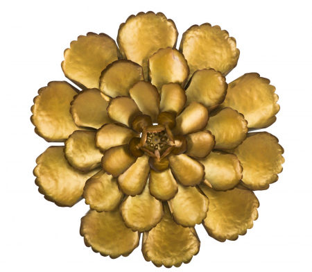 Decoratiune de perete  FIORE GOLDY -A- (cm) Ø 64X5,50