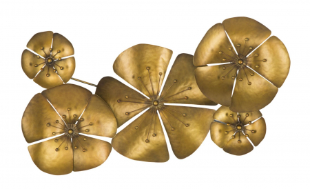 Decoratiune de perete  FLOWER GOLDY -A- (cm) 94X6X500
