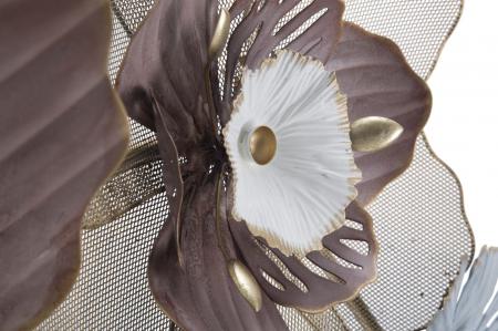 Decoratiune de perete FLOWER OPAS (cm) 154X12X664
