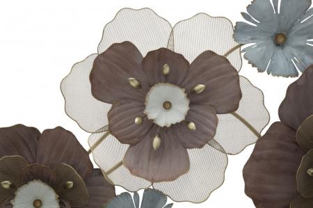 Decoratiune de perete FLOWER OPAS (cm) 154X12X661