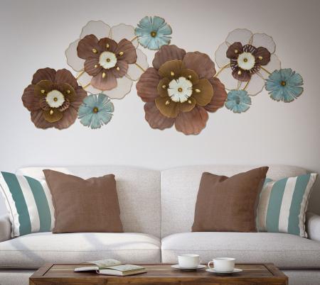 Decoratiune de perete FLOWER OPAS (cm) 154X12X665
