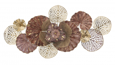 Decoratiune de perete FLOWERY (cm) 118X10X580
