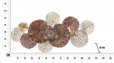 Decoratiune de perete FLOWERY (cm) 118X10X586
