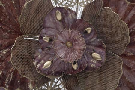 Decoratiune de perete FLOWERY (cm) 118X10X581