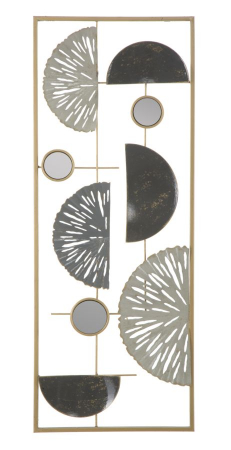Decoratiune de perete GEOMETRIC (cm) 28,5X2,5X740