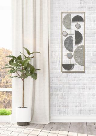 Decoratiune de perete GEOMETRIC (cm) 28,5X2,5X746