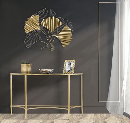 Decoratiune de perete GOXY GOLD (cm) 80X2,5X704