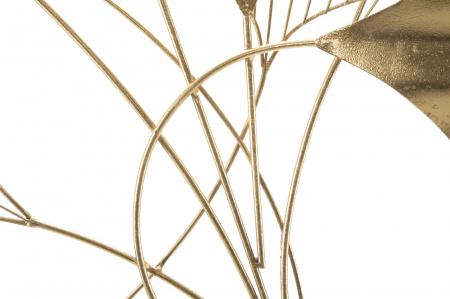 Decoratiune de perete GOXY GOLD (cm) 80X2,5X703