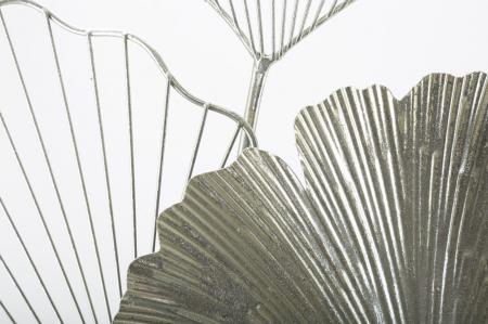 Decoratiune de perete GOXY SILVER (cm) 62X4X863