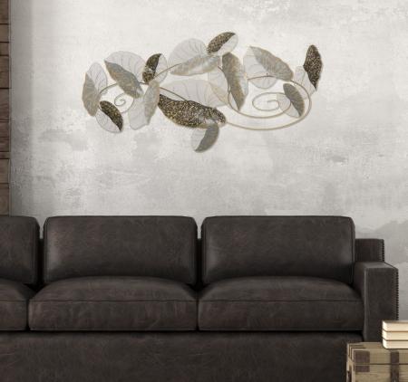 Decoratiune de perete LOTUS (cm) 119X7X638