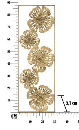 Decoratiune de perete  LUXY -B- (cm) 30,5X3,75X88,58