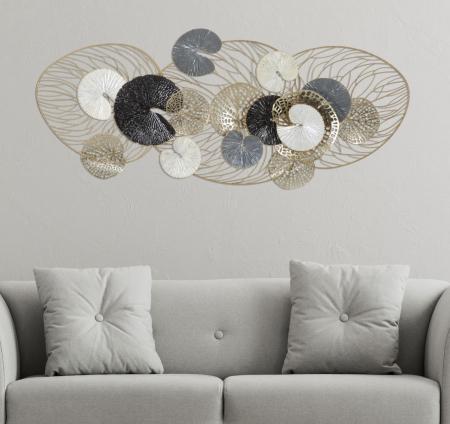 Decoratiune de perete LUXY (cm) 124,5X9,5X557