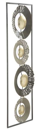 Decoratiune de perete RING (cm) 31X3X89,51