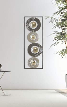 Decoratiune de perete RING (cm) 31X3X89,57
