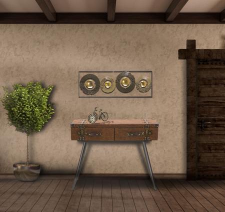Decoratiune de perete RING (cm) 31X3X89,58