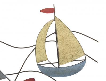 Decoratiune de perete SEA (cm) 114,5X3,5X62,507