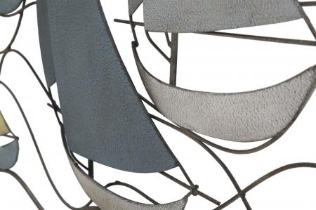 Decoratiune de perete SEA (cm) 114,5X3,5X62,506