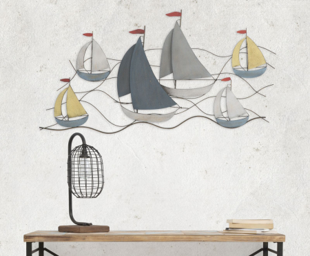Decoratiune de perete SEA (cm) 114,5X3,5X62,508