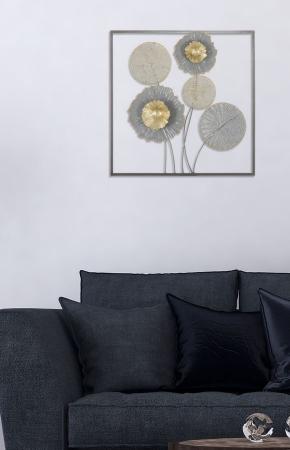 Decoratiune de perete SQITY (cm) 50X3,8X506