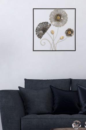 Decoratiune de perete SQUARE (cm) 50X5,5X506