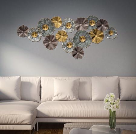 Decoratiune de perete TORH (cm) 152X9X665